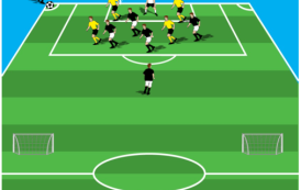 6 v 4 Attacking Game