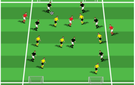 Four Goal Directional Game